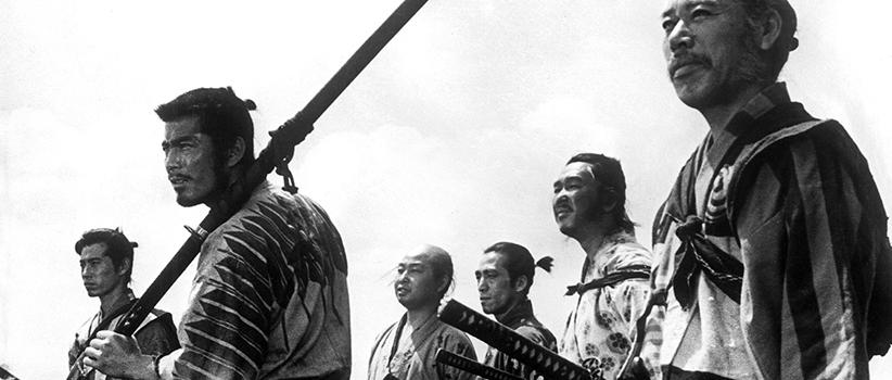 فیلم هفت سامورایی - Seven Samurai محصول ژاپن کارگردان:Akira Kurosawa بازیگران:Toshiro Mifune, Takashi Shimura, Keiko Tsushima سال ساخت:۱۹۵۴