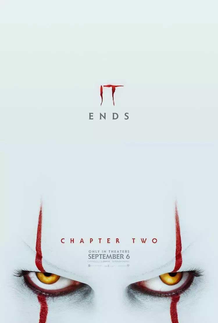 پوستر قسمت دوم فیلم ترسناک it