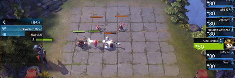 دانلود بازی موبایل Arena of Evolution: Red Tides