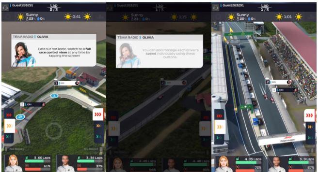 معرفی و دانلود بازی موبایل F1 Manager