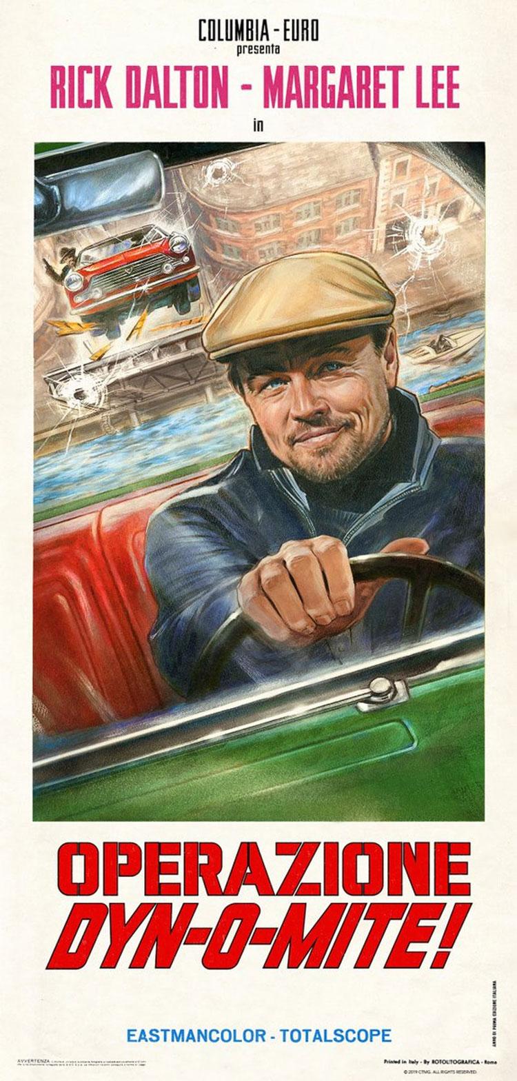 پوستر جدید فیلم روزی روزگاری در هالیوود - Once Upon a Time in Hollywood