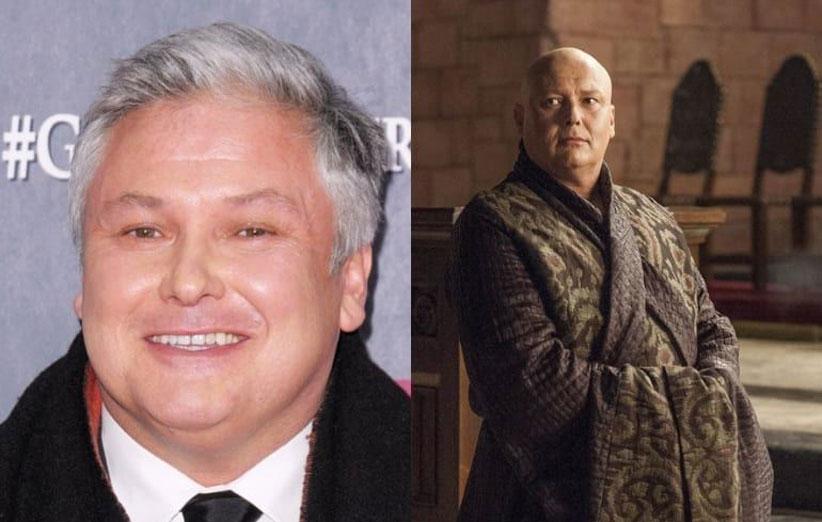 کانلت هیل در نقش لرد واریس - دستمزد میلیون دلاری بازیگران گیم اف ترونز - Game of Thrones