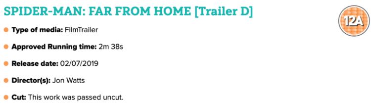 انتشار تریلر فیلم مرد عنکبوتی: دور از خانه - Spider-Man: Far From Home در آخر هفته