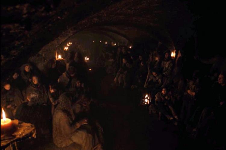 قسمت سوم فصل آخر گیم آف ترونز - Game of Thrones با حالت روشنتر