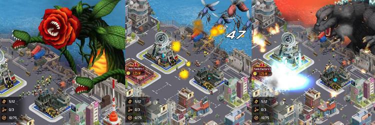 دانلود بازی اندروید و آیفون Godzilla Defense Force
