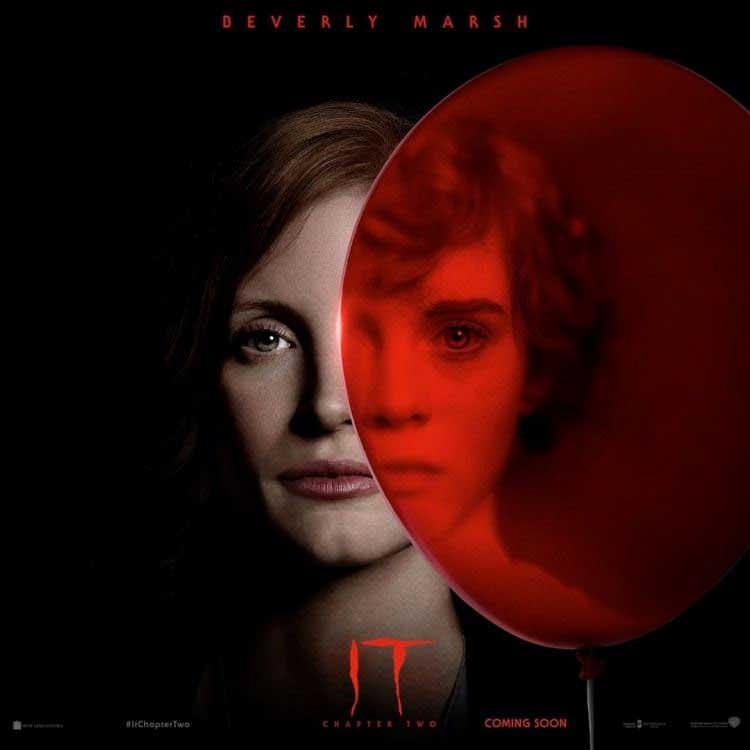 پوسترهای جدید قسمت دوم فیلم it