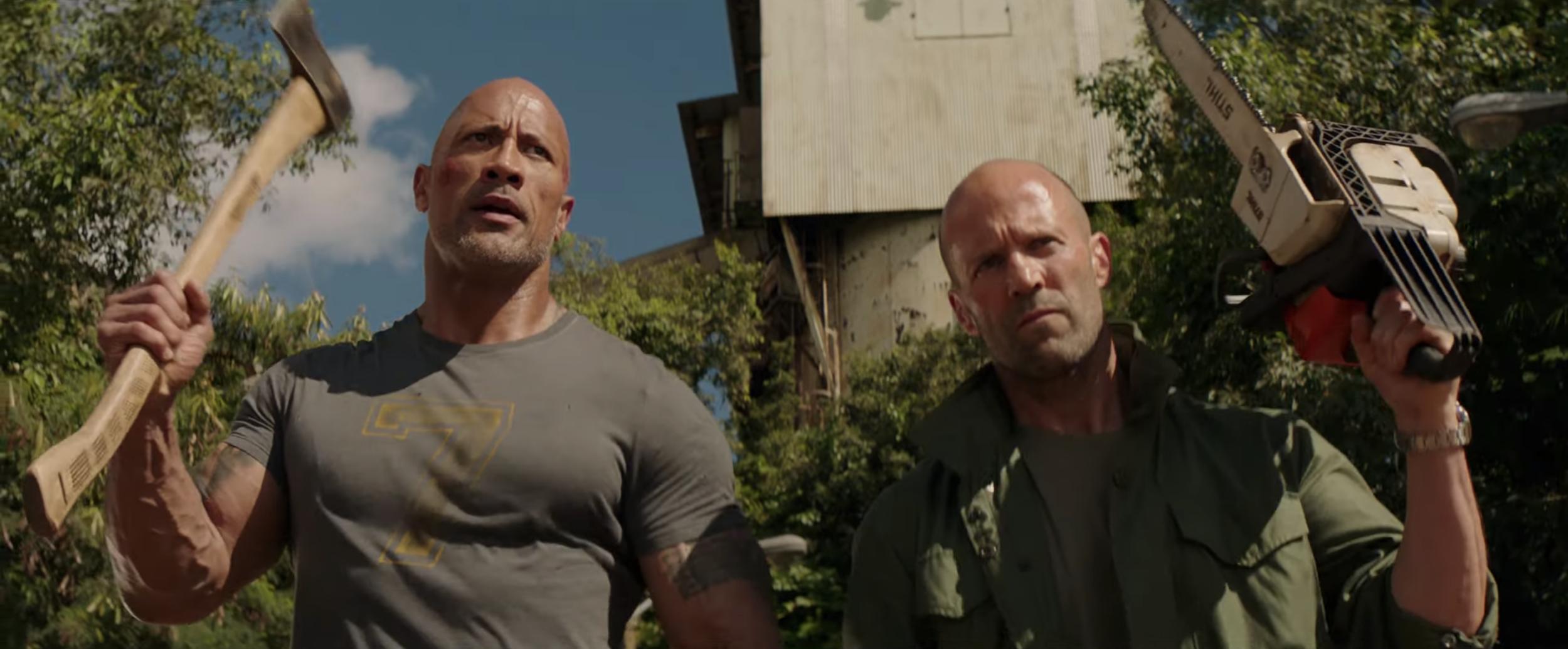 تریلر فیلم هابز و شاو (Fast and Furious Presents: Hobbs and Shaw) با بازی دواین جانسون و جیسون استاتهام
