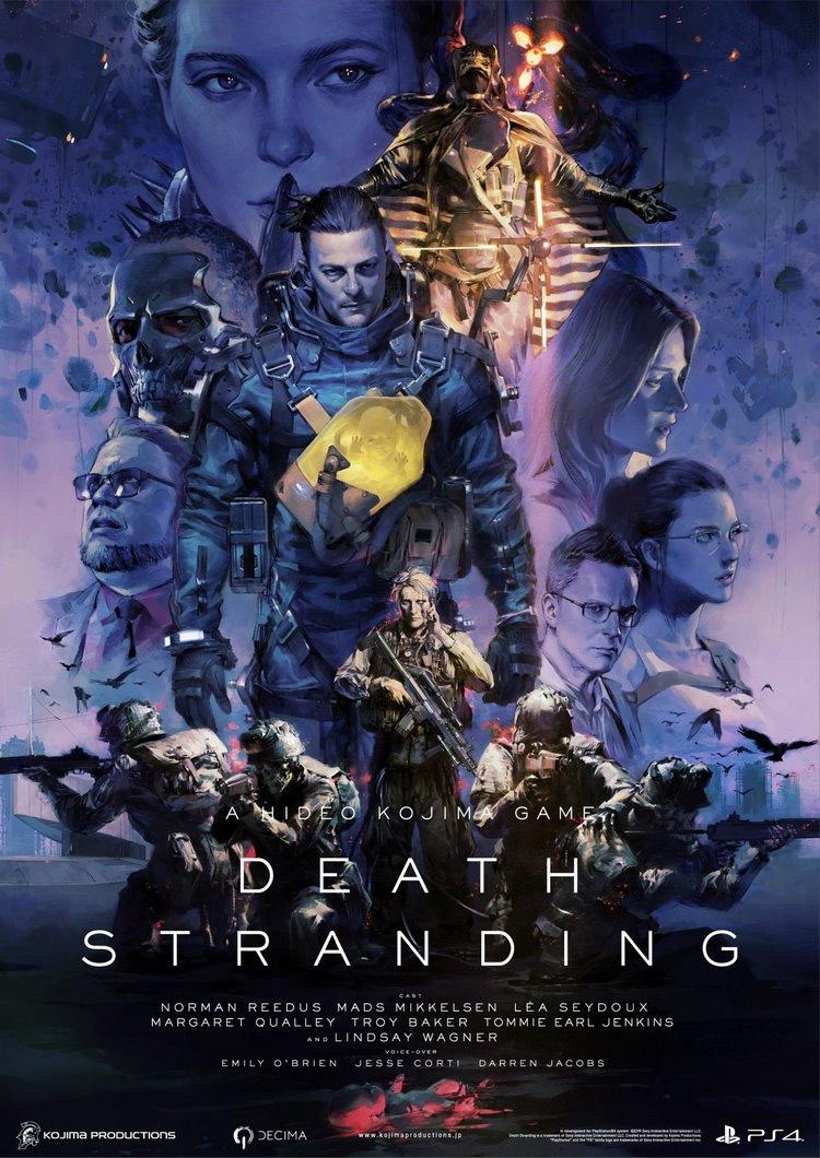 پوستر بازی دث استرندینگ – Death Stranding