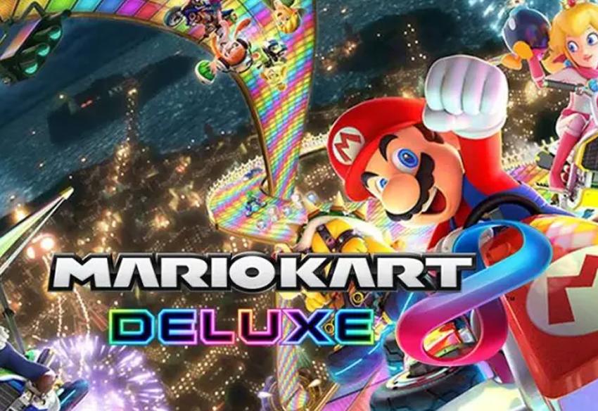 بازی ماریو کارت 8 - Mario Kart 8 Deluxe