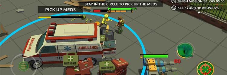 دانلود بازی موبایل Zombie Blast Crew