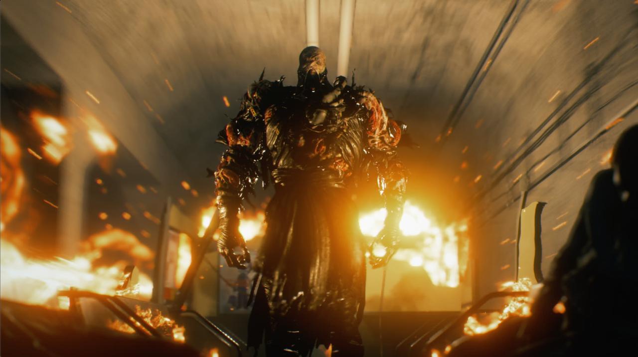 nemesis in resident evil 3 remake