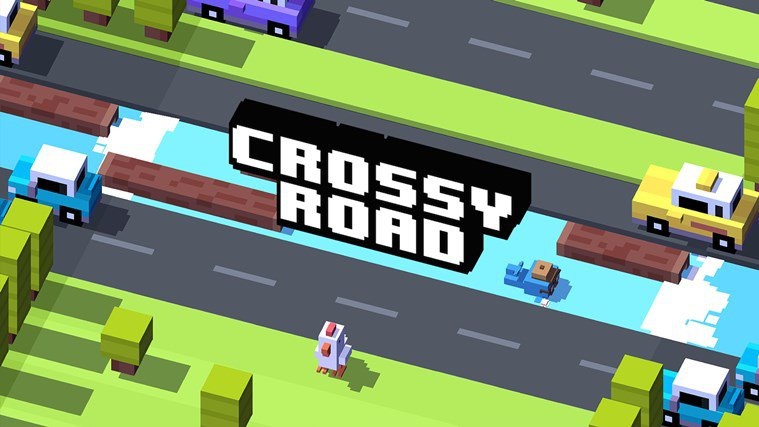 دانلود بازی اندروید Crossy Road - جاده های پر خطر