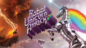 دانلود بازی اندروید Robot Unicorn Attack 2 - حمله ربات تک شاخ 2