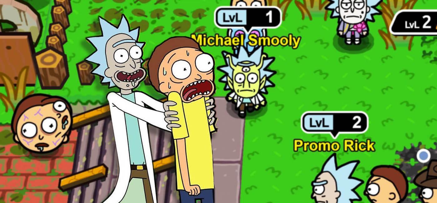 دانلود بازی آیفون Rick and Morty