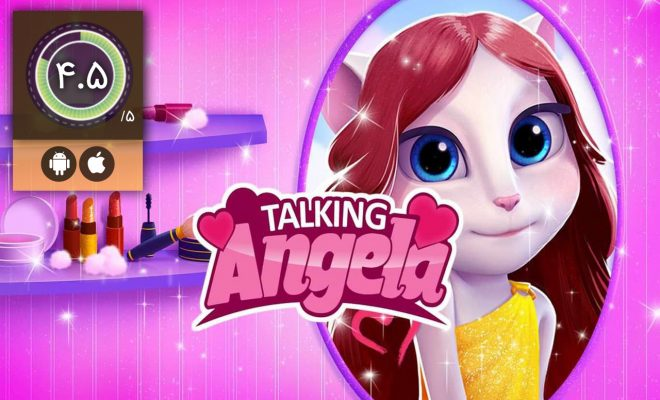 بازی My Talking Angela – آنجلای سخنگوی من