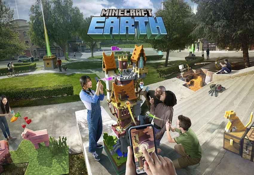 دانلود بازی Minecraft Earth – مانکرافت ارث
