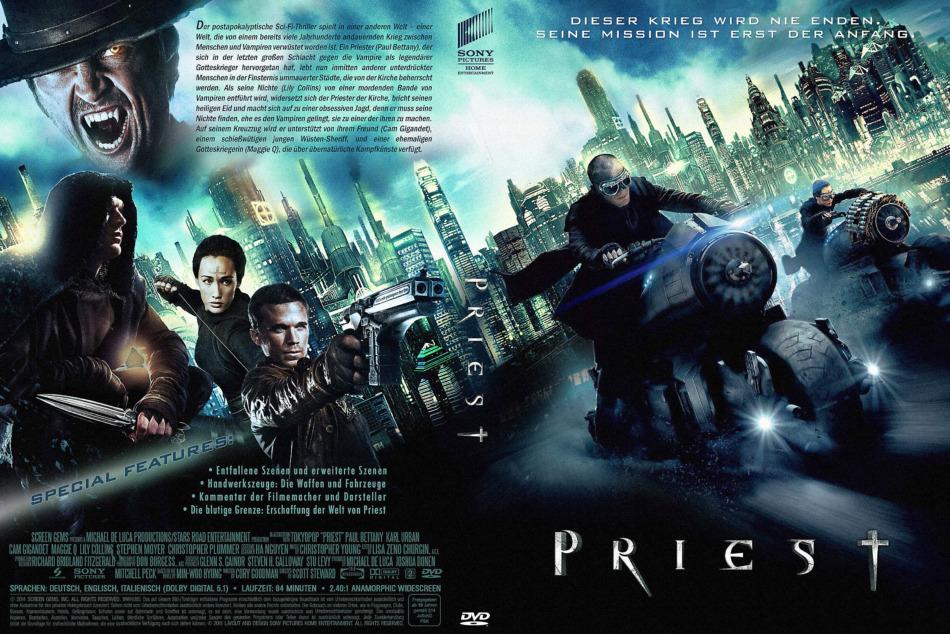 دانلود فیلم خون آشام ترسناک کشیش - The Priest