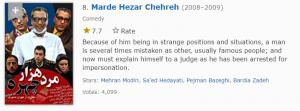 مرد هزار چهره هشتمین مورد از بهترین سریال های ایرانی در imdb