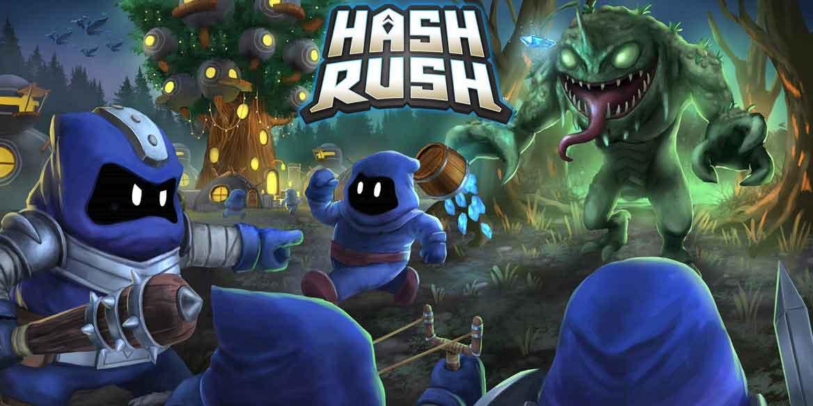 بازی هش راش (Hash Rush)